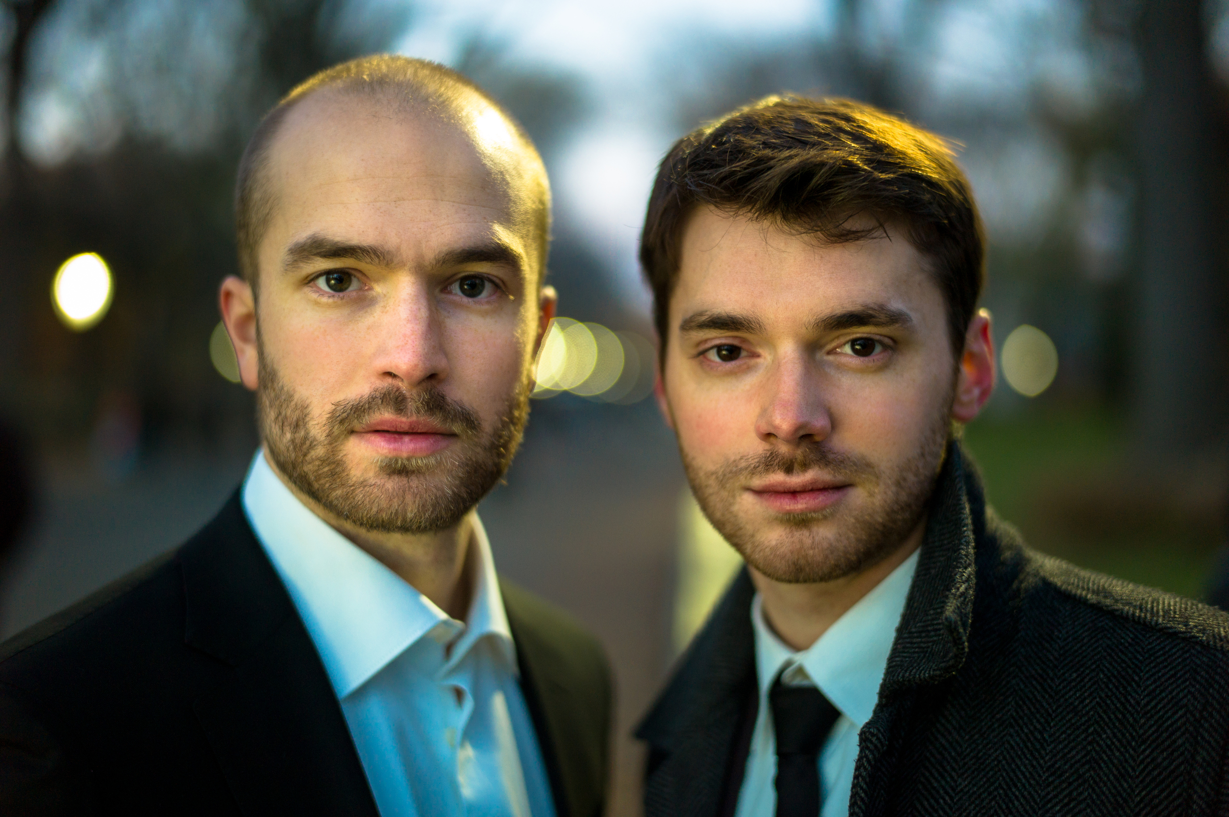 Baritone John Brancy and Pianist Peter Dugan, who will be featured in a recital of songs by the great composers of World War I on Thursday July 16 as part of the 2015 Summer Festival.