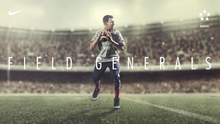 client Nike photographer Ben Pigao athlete Jonny Manziel