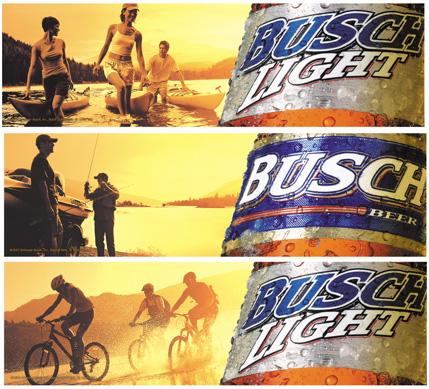 client Busch Beer photographer Chuck Kuhn
