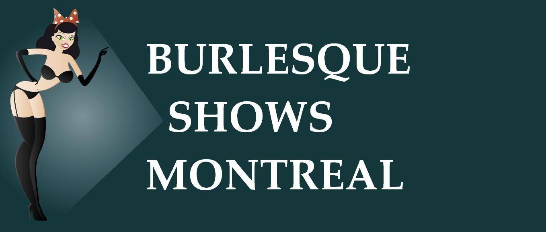 Burlesque Shows Montreal Logo