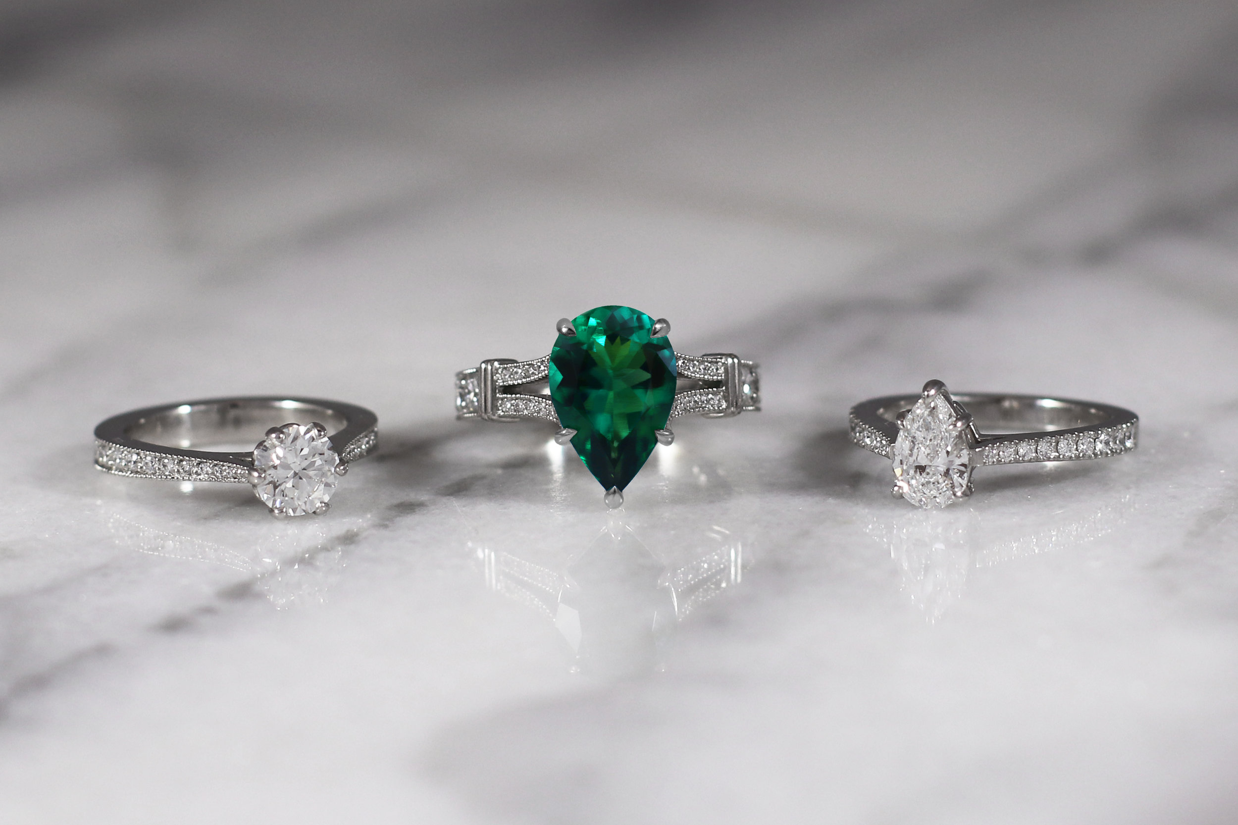 Elisa Melegari Jewelry Engagement Rings