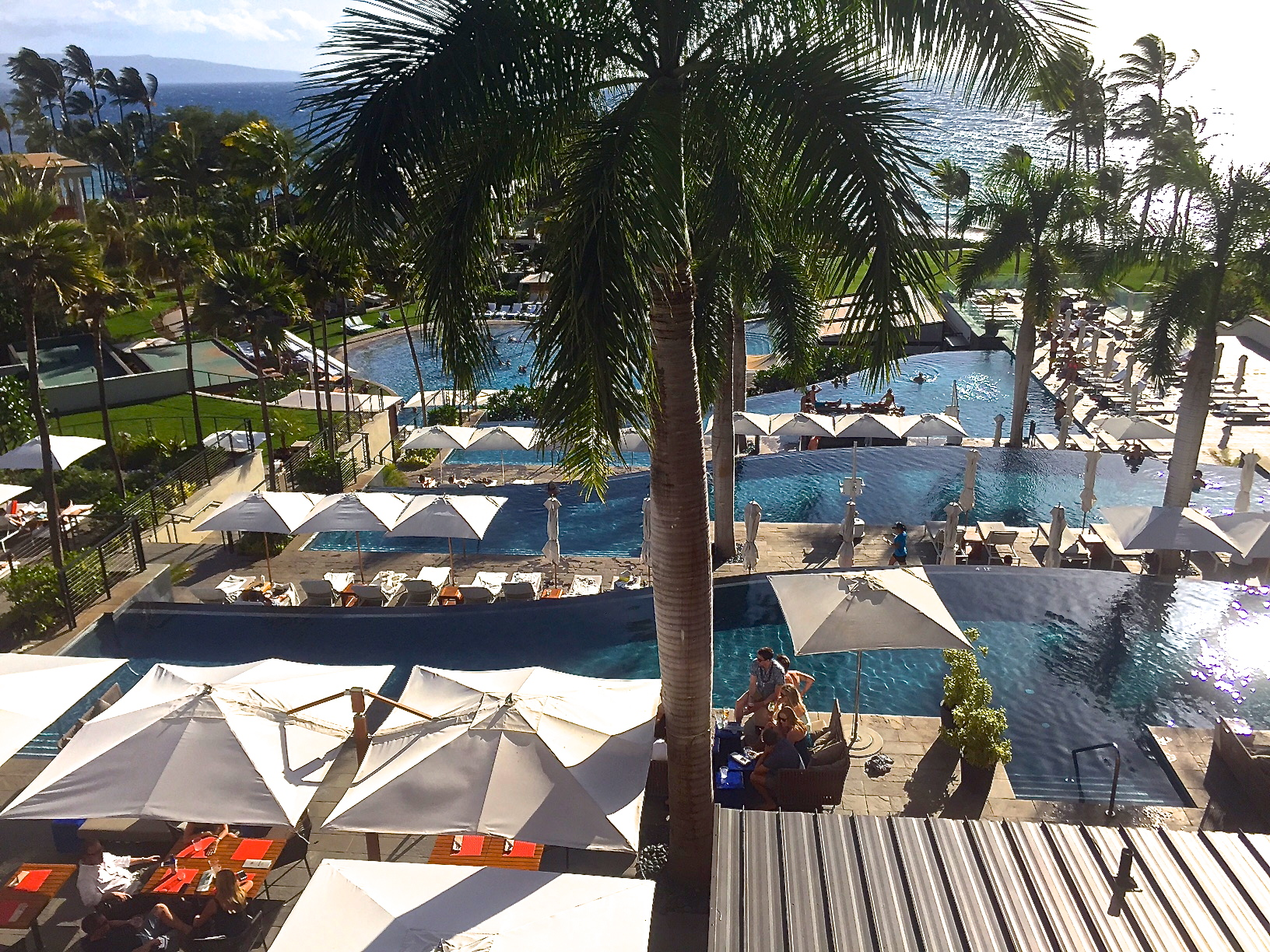 Our view.  Andaz Maui.
