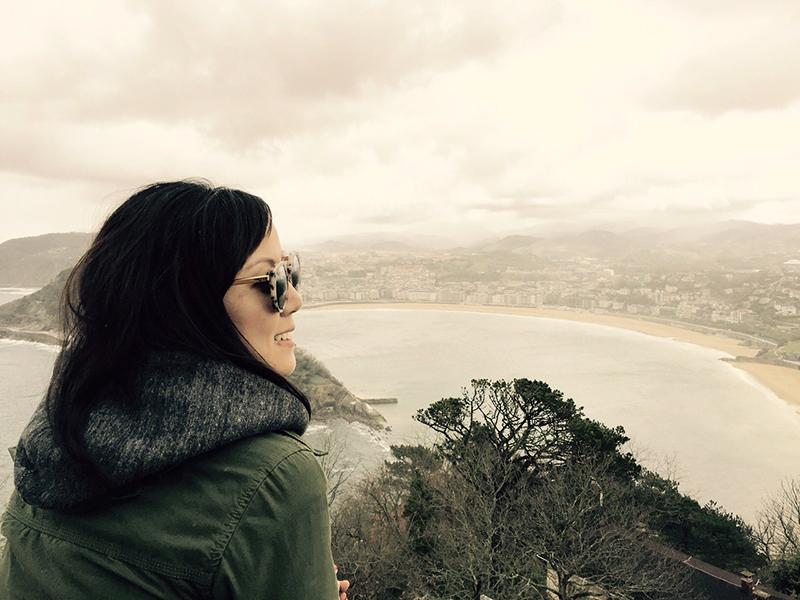 A view from the top,San Sebastián
