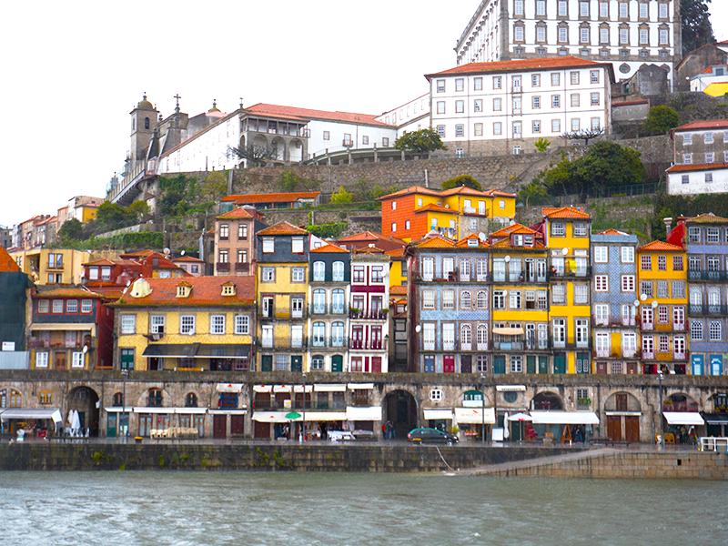 Along the Douro river front, Porto