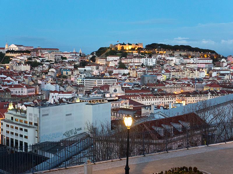 Hello Lisboa~ view from Miradouro Senhora da Monte