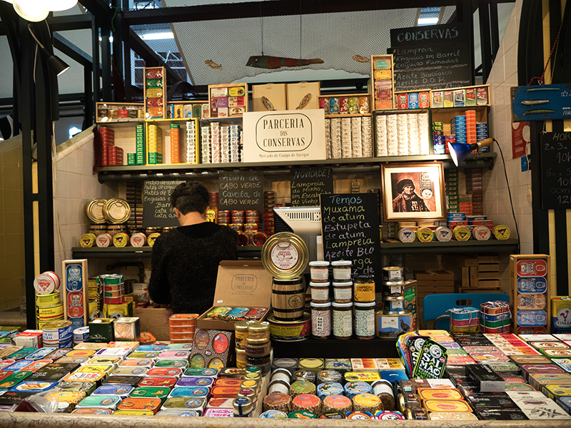 Love these canned fish shops!