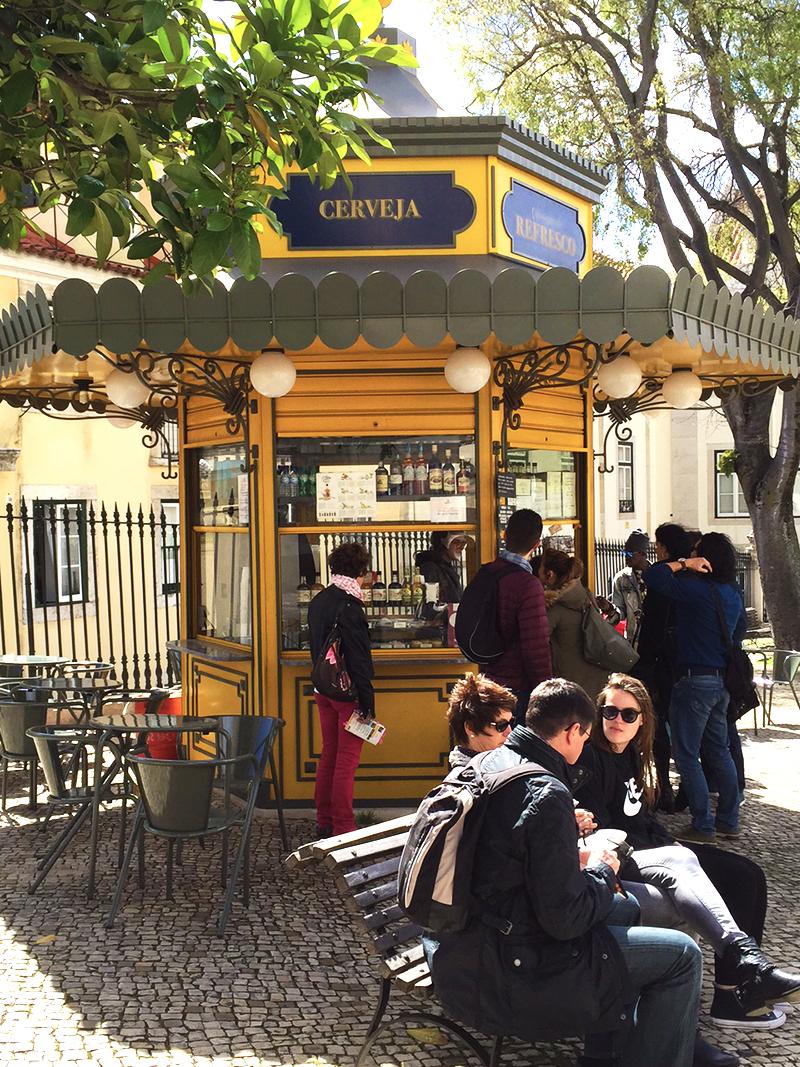 Quiosque, Lisboa