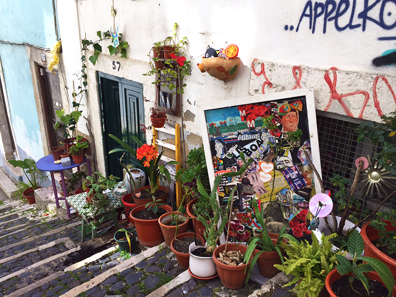 The streets of Lisboa