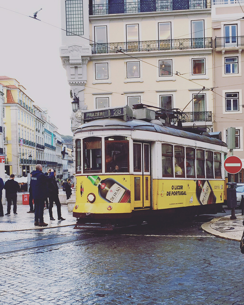 'Tram 28' that just takes you all around pretty much everywhere you need to go. Lisboa.