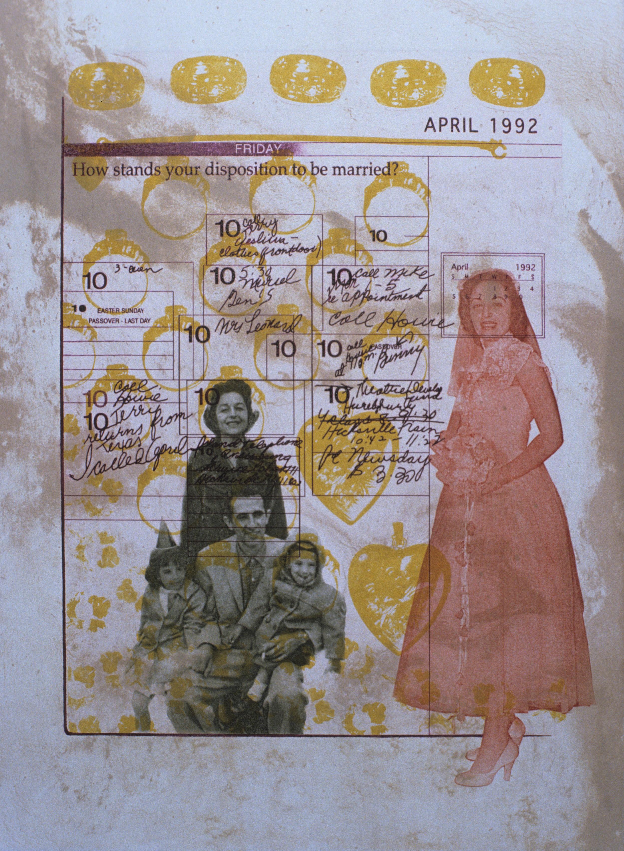 April 10: Disposition