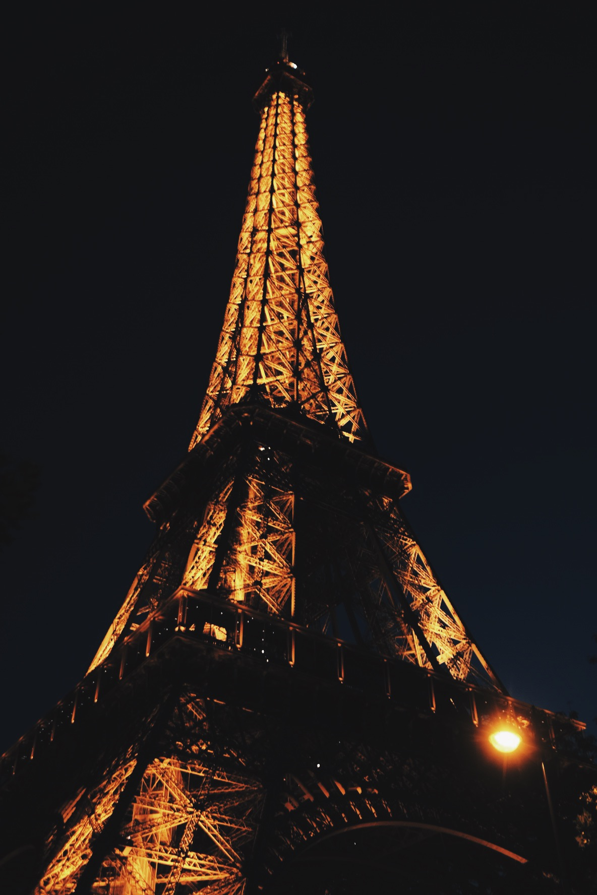 And so we ended our trip by being as cliche as humanly possible and embracing our tourism. We ate escargot and smoked cigarettes under the Eiffel Tower. When in Paris, right?