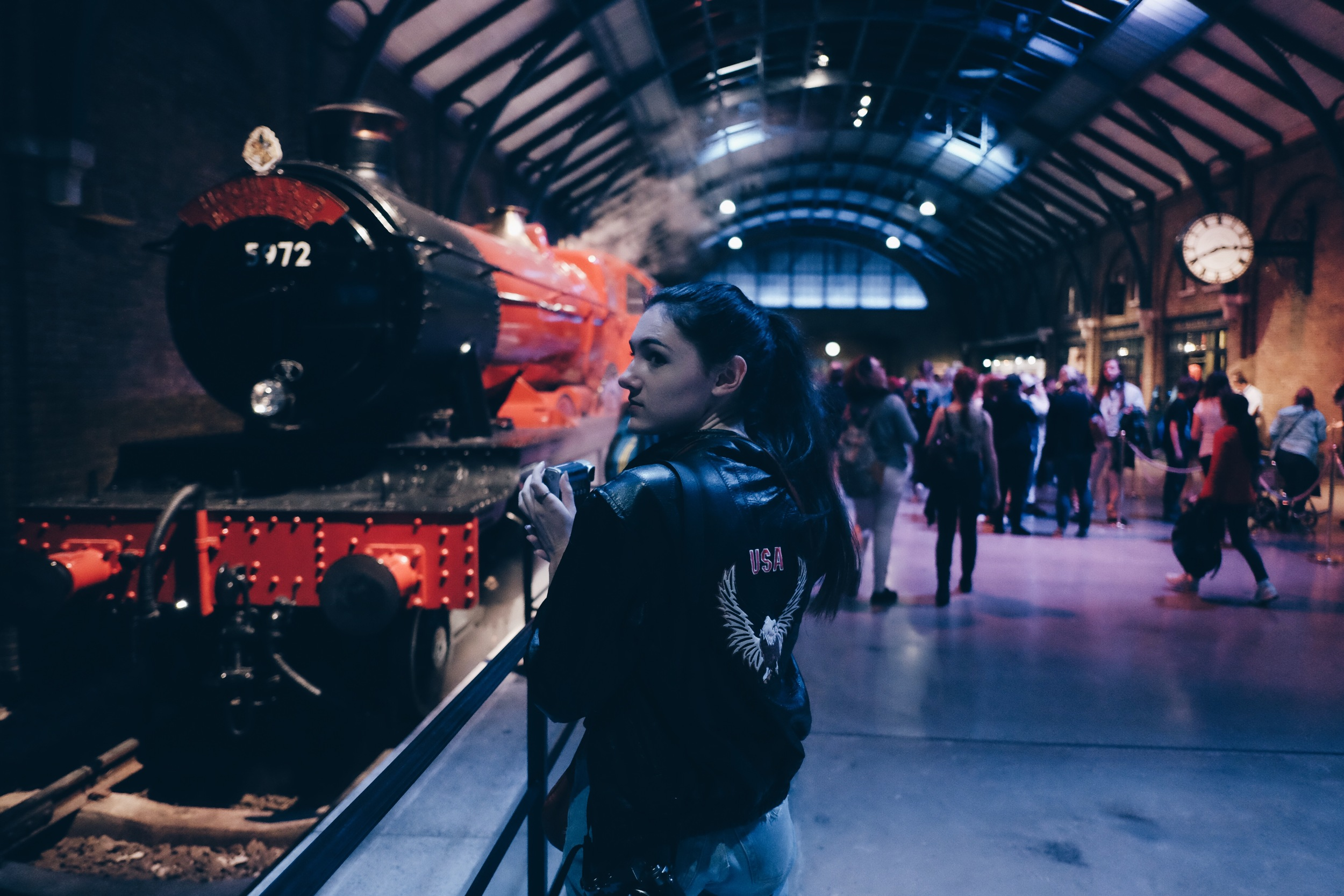 I then dragged Casey into my world of complete and utter nerd by taking her to the making of Harry Potter. I was more excited than the average 21 year old should have been...