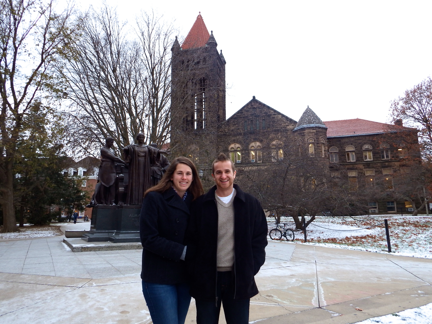 Nate and Laura Amodio work with InterVarsity Christian Fellowship at the University of Illinois.