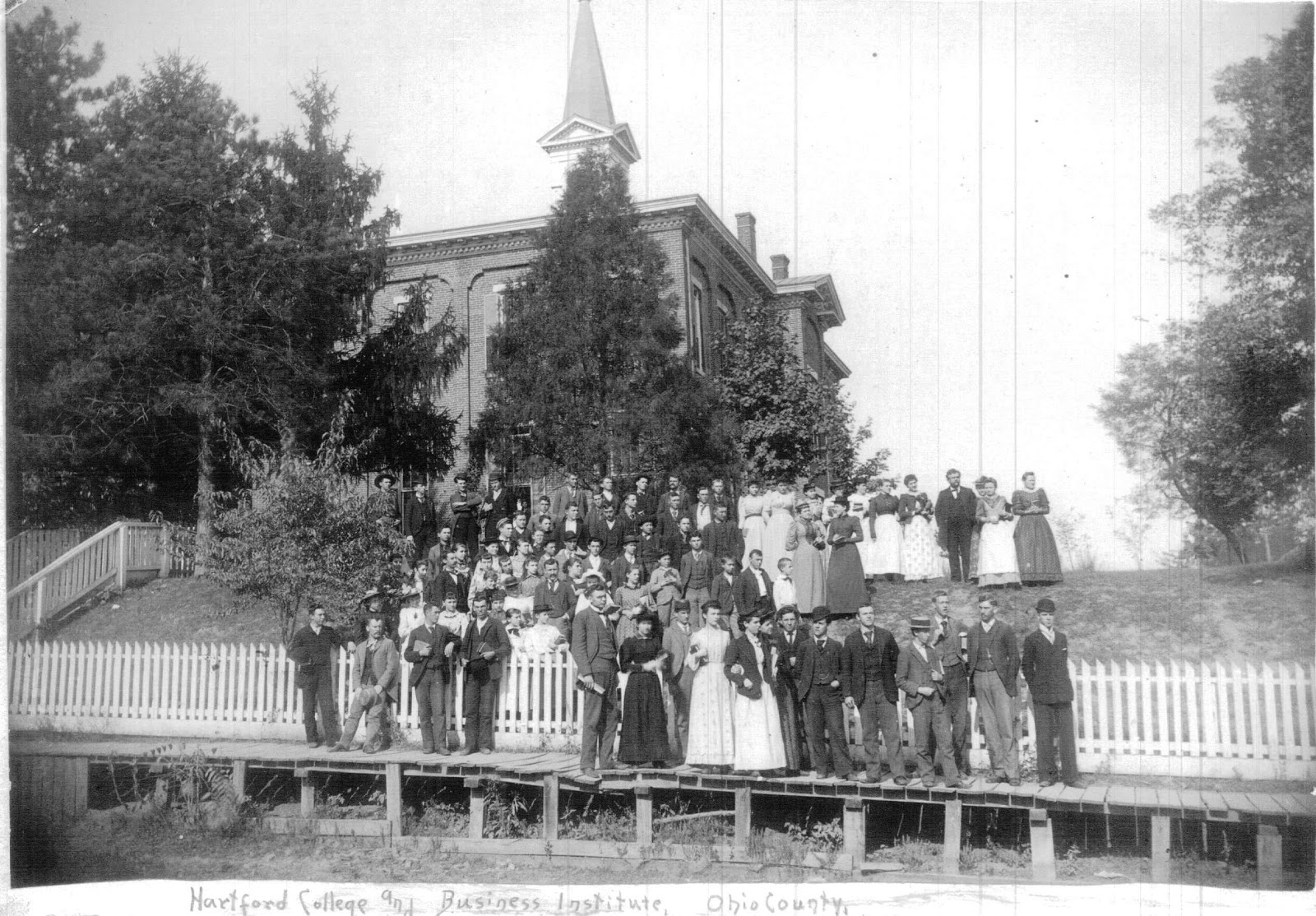 Hartford College and Business Institute, W.H. Davidson 1880's-1890's