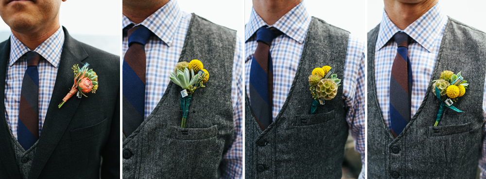 Check out the beer can details in these stylish gentlemens' bouts.