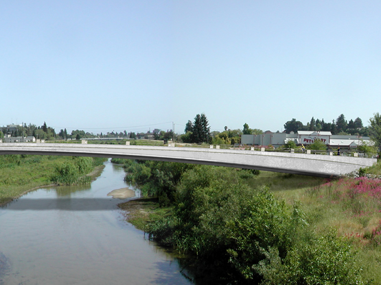 San Lorenzo River Bicycle and Pedestrian Bridge