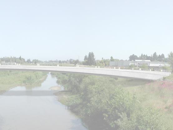 San Lorenzo River Bicycle and Pedestrian Bridge