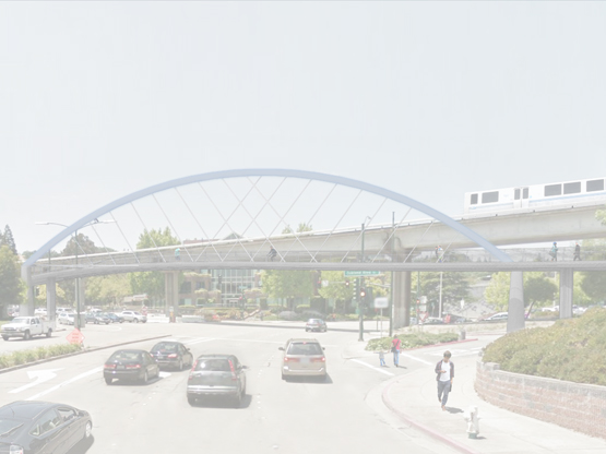 Ygnacio Valley Road Bicycle and Pedestrian Bridge