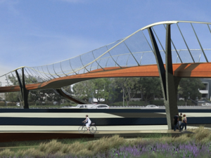 Palo Alto Adobe Creek Bicyclist & Pedestrian Bridge Competition