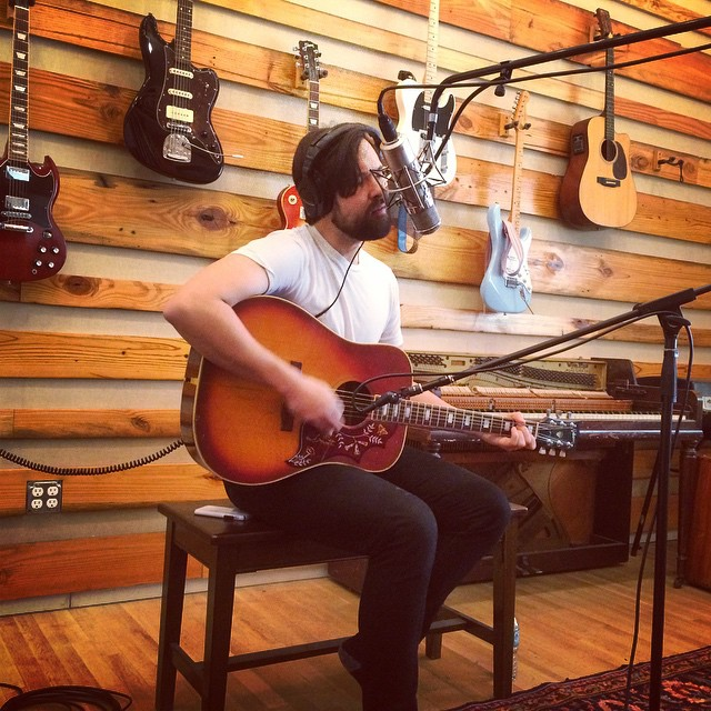 @rocketandtheghost in the studio today at #betterproblems.