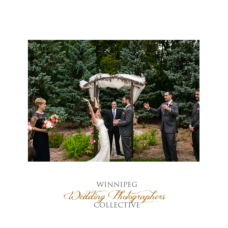 23 Bride and Groom outdoor wedding cheer cheering.jpg