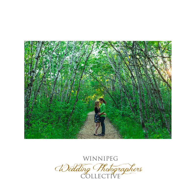 Assiniboine Forest Engagement Photographer