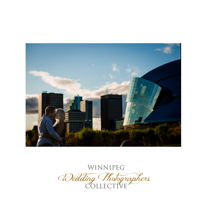 Engagement photos at The Forks in Winnipeg