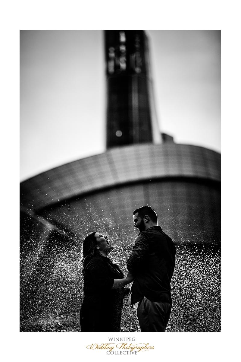 12 Sprinkler Rain Water Dark Edgy Engaged Engagement Shoot Tony.jpg.jpg