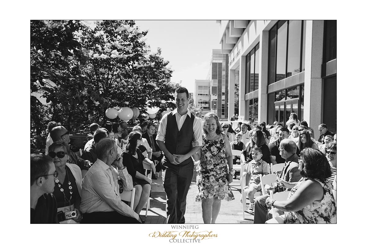 University of Manitoba wedding photo