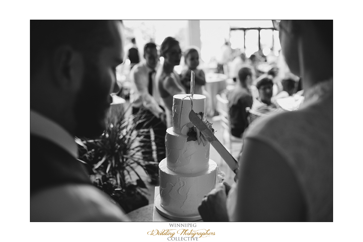 University of Manitoba wedding reception photos