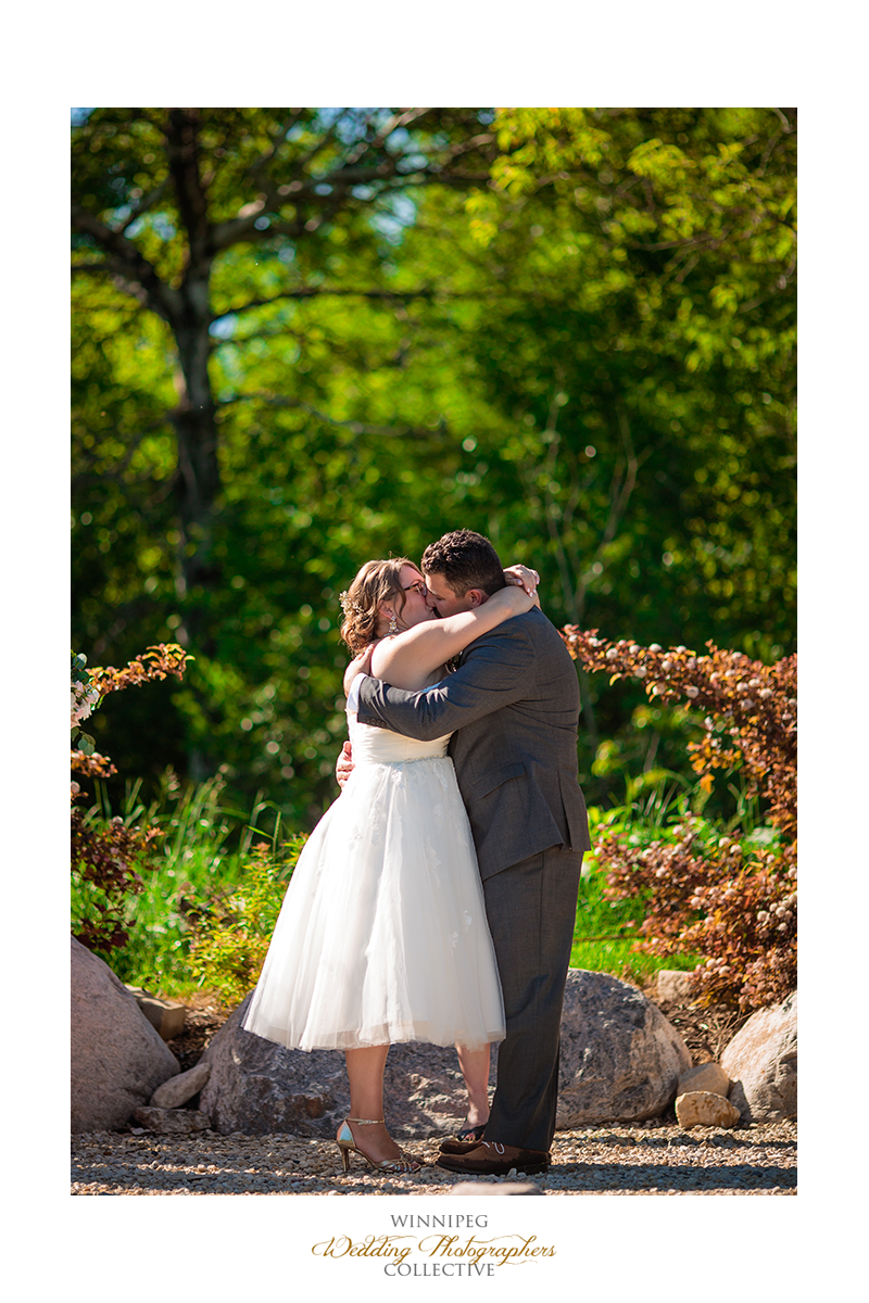 18 First Kiss OUtdoor Country Wedding.jpg