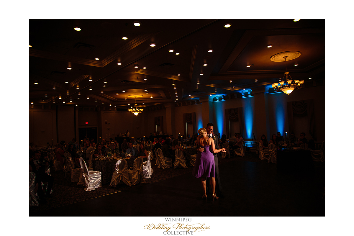 Best Western Winnipeg wedding reception photo