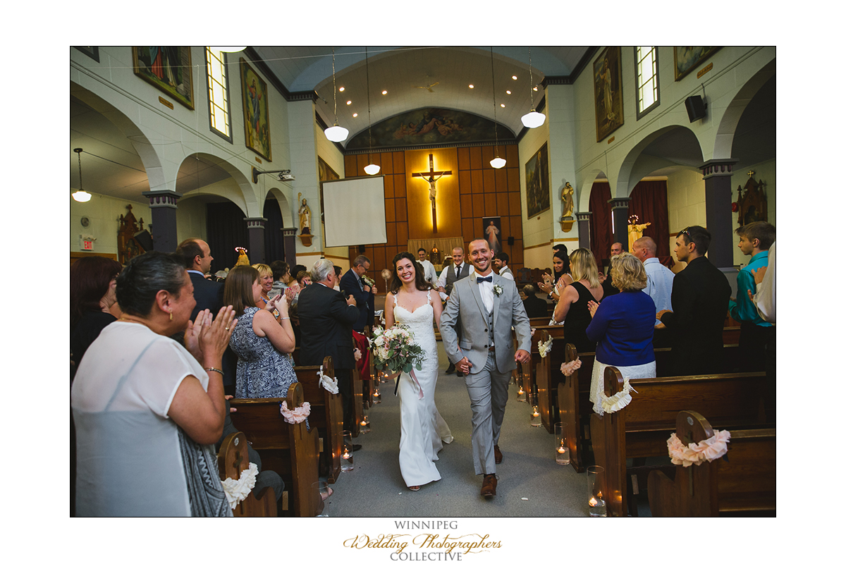 St. Malo Church wedding photos