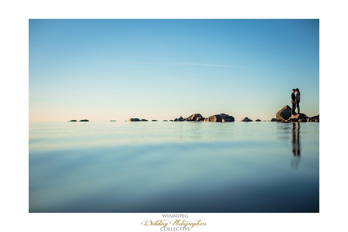 Grand Beach Engagement Photography