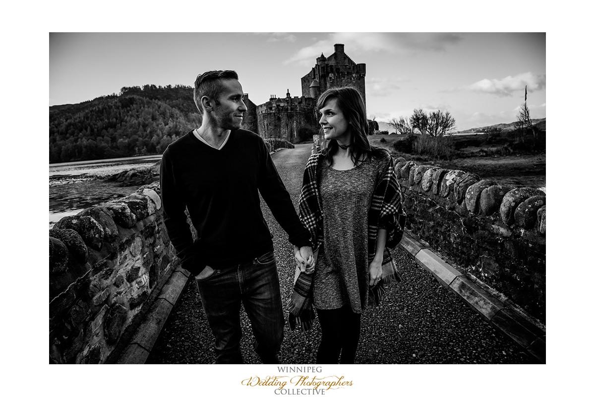 003_Angie Jeff Scotland Engagement Shoot Engaged Photos Isle of Skye Eilean Donan Castle.jpg
