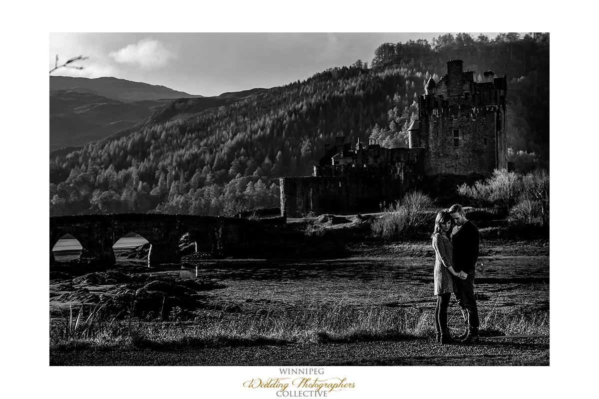 007_Angie Jeff Scotland Engagement Shoot Engaged Photos Isle of Skye Eilean Donan Castle.jpg