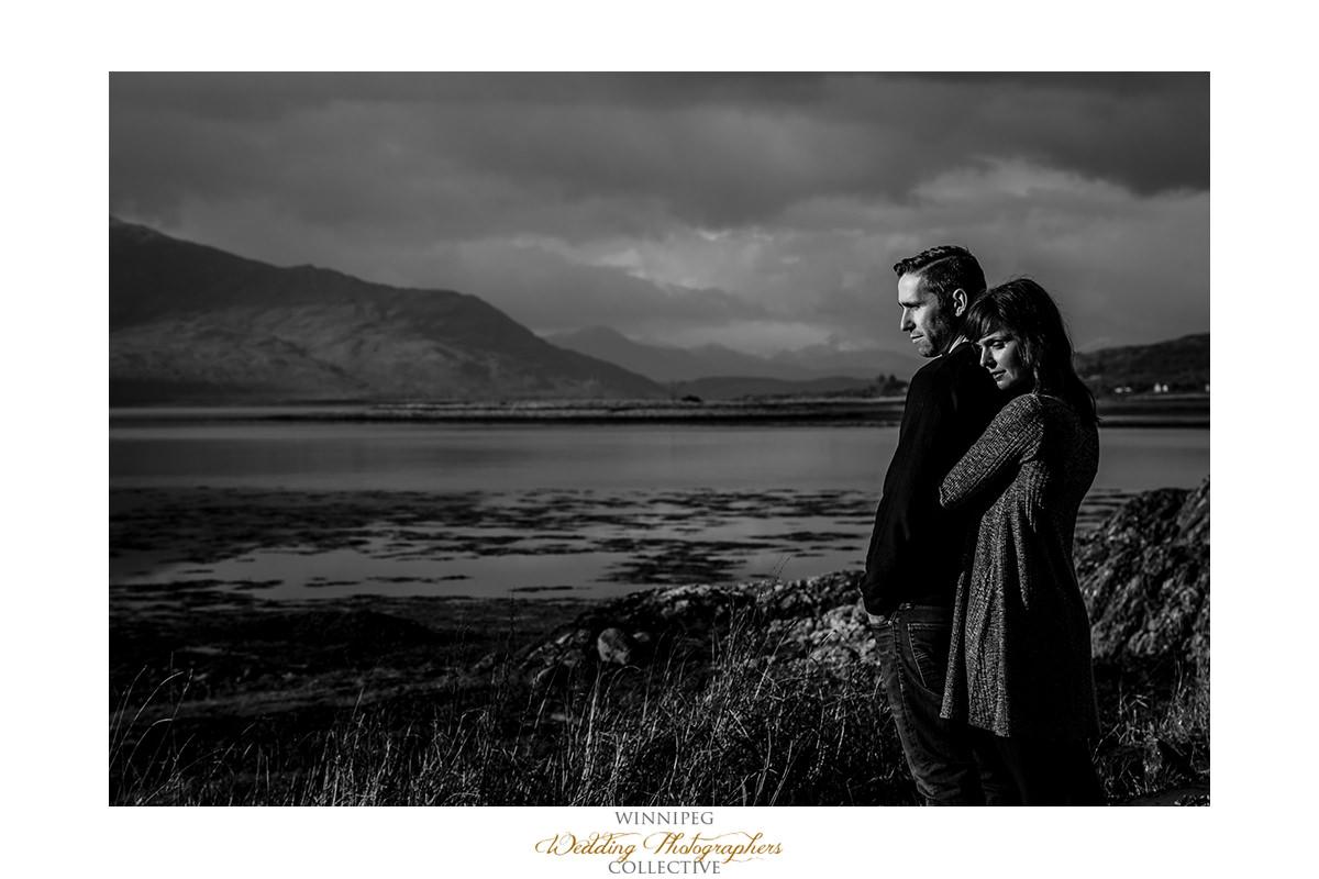 008_Angie Jeff Scotland Engagement Shoot Engaged Photos Isle of Skye Eilean Donan Castle.jpg