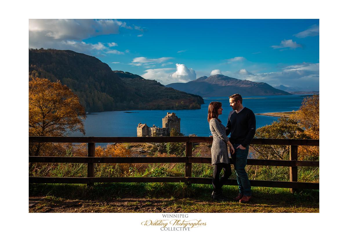 012_Angie Jeff Scotland Engagement Shoot Engaged Photos Isle of Skye Eilean Donan Castle.jpg