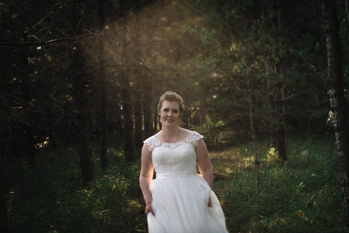 Bridal Portrait at Cielo's garden wedding venue