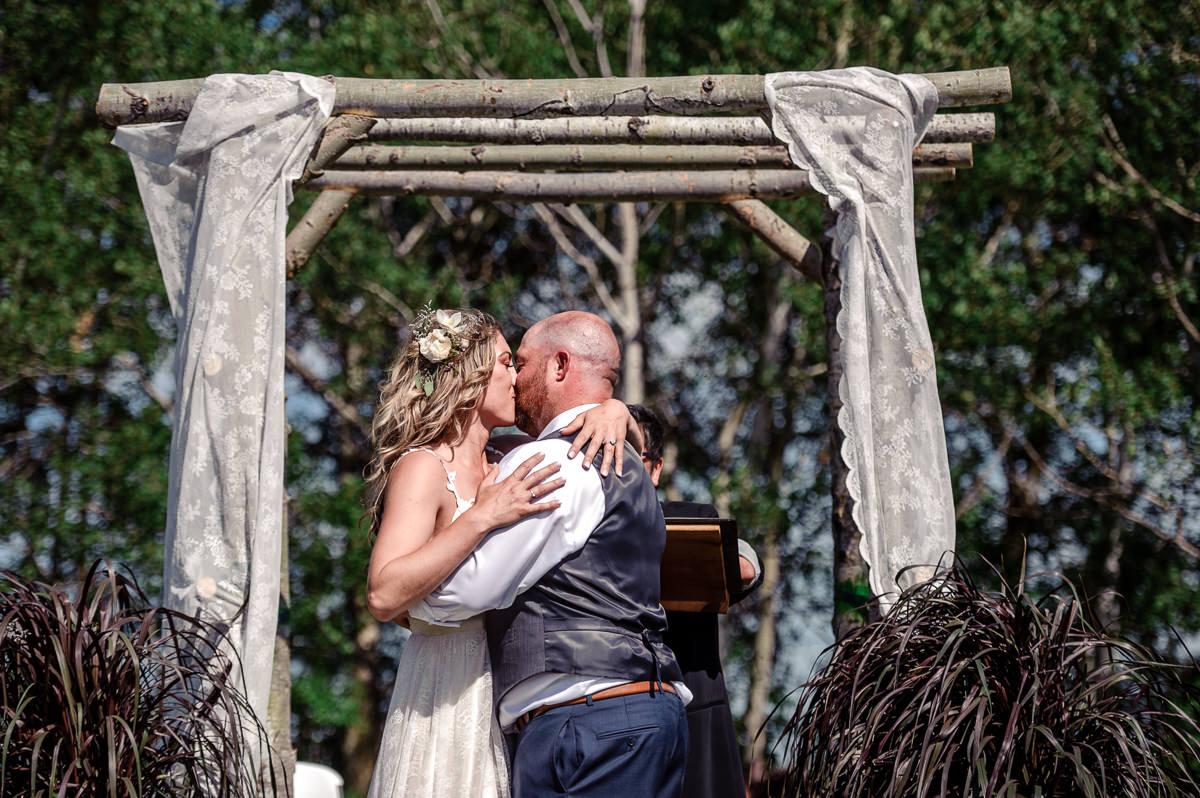 Petersfield tent wedding