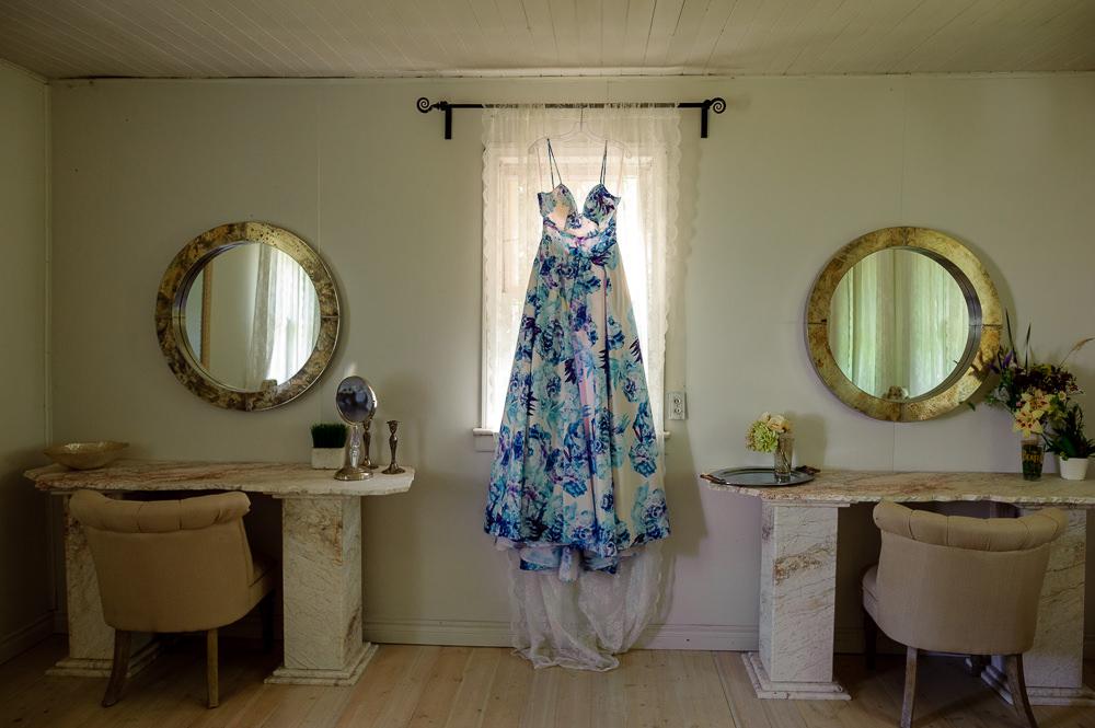 Intimate wedding at Cielo's Garden Manitoba