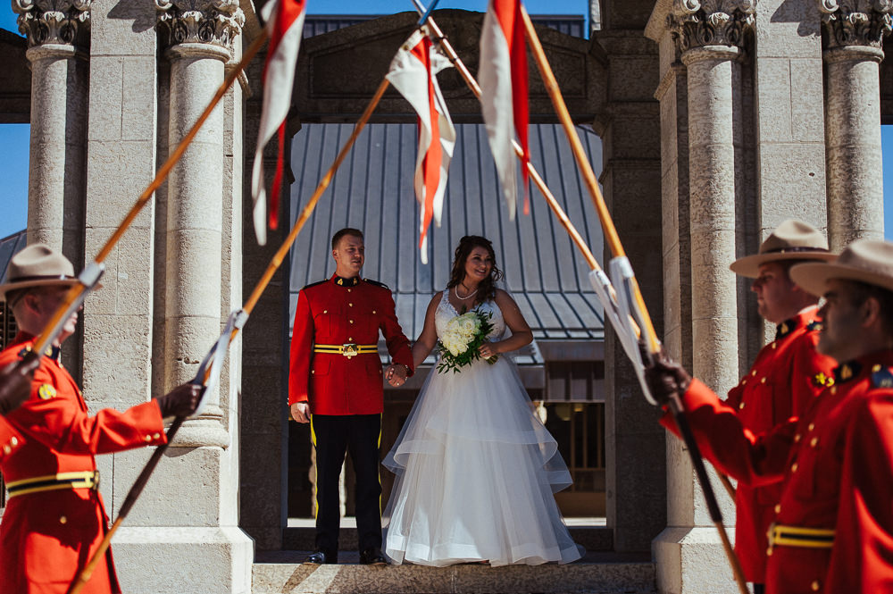 Canadian RCMP Wedding in Winnipeg