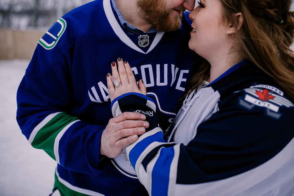 Winnipeg Jets Engagement photos