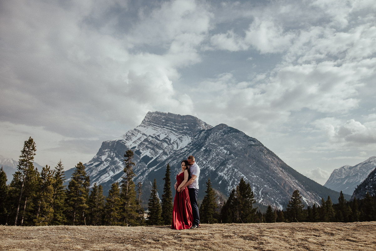 Pre wedding photos Banff National Park