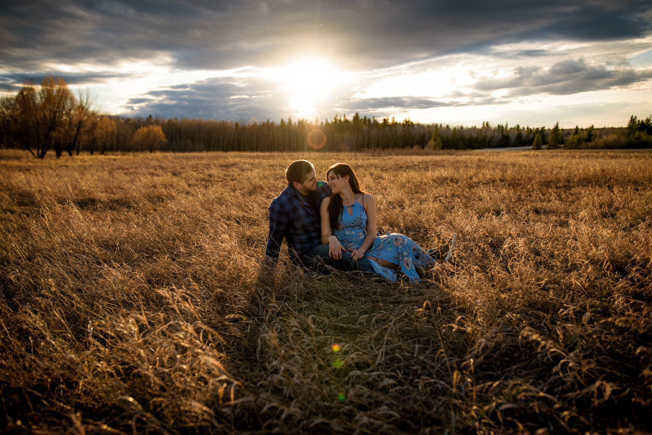 Spring Engagement Photos Manitoba