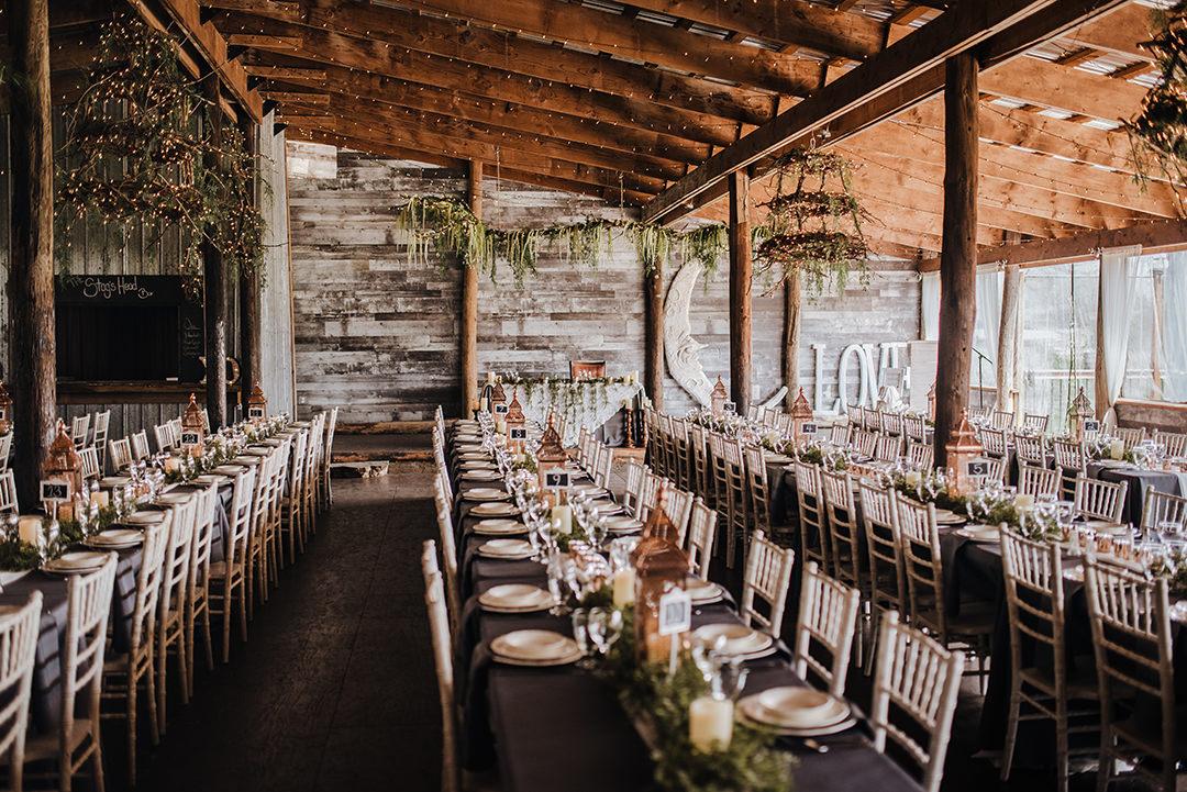 Winnipeg La Lune outdoor wedding venue reception