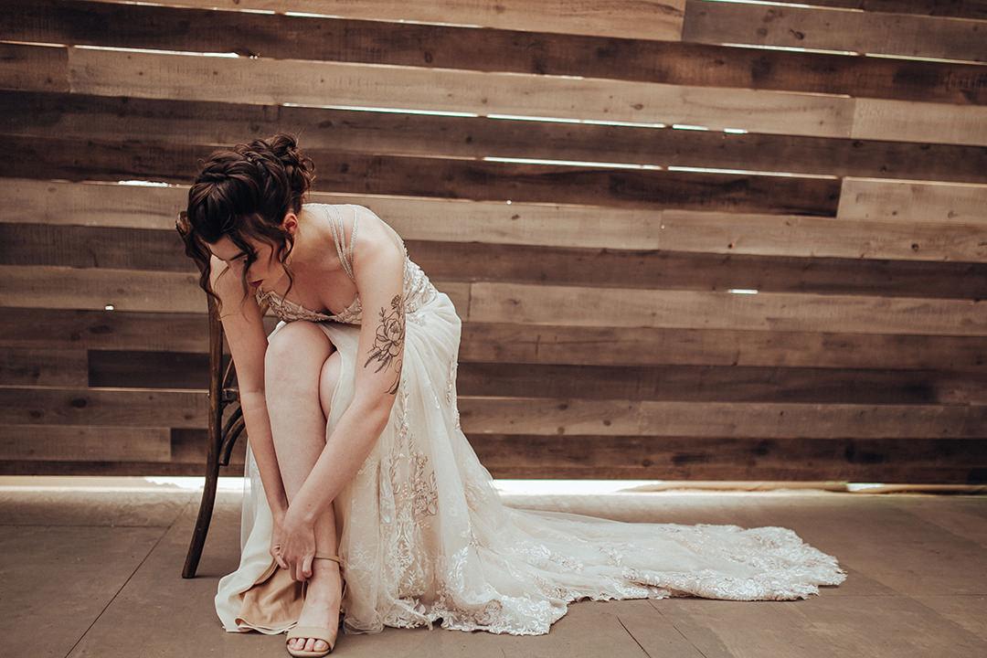Anna Lang Bridal Gowns Winnipeg