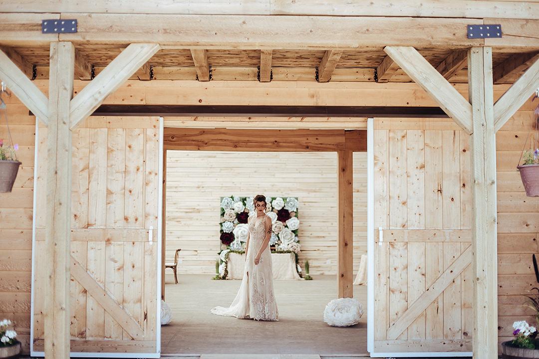 Anna Lang Bridal Gown Winnipeg