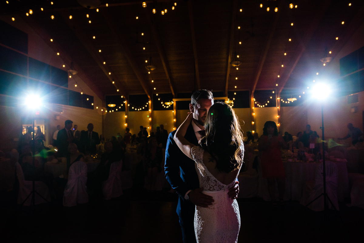 St. Boniface Golf Course wedding first dance