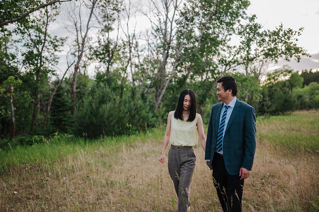 Winnipeg pre wedding photo shoot
